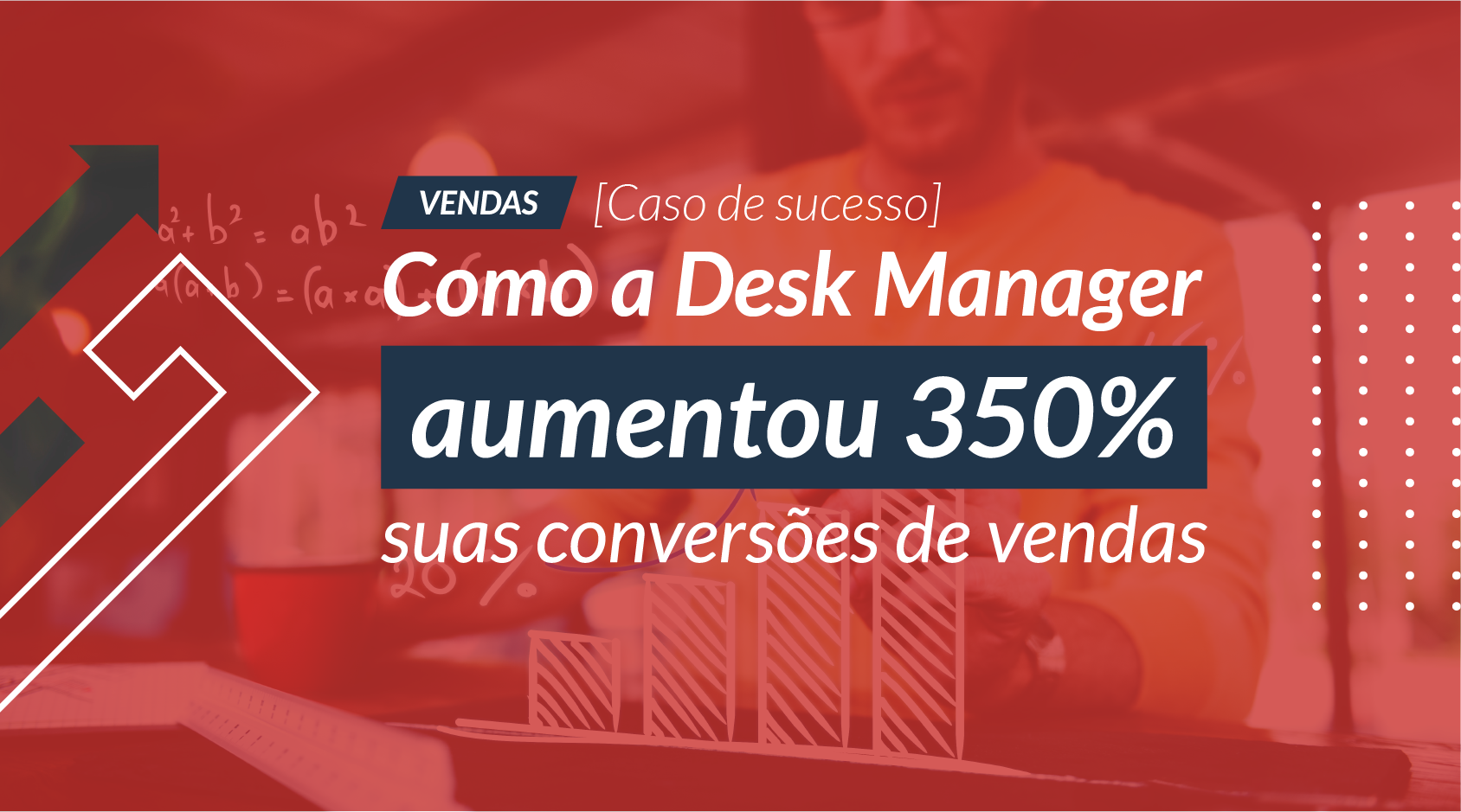 [Caso de Sucesso] Como a Desk Manager aumentou 350% suas conversões de vendas