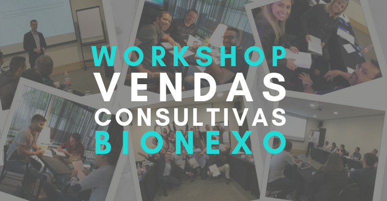 Sales Hackers realiza Workshop Vendas Consultivas para Bionexo